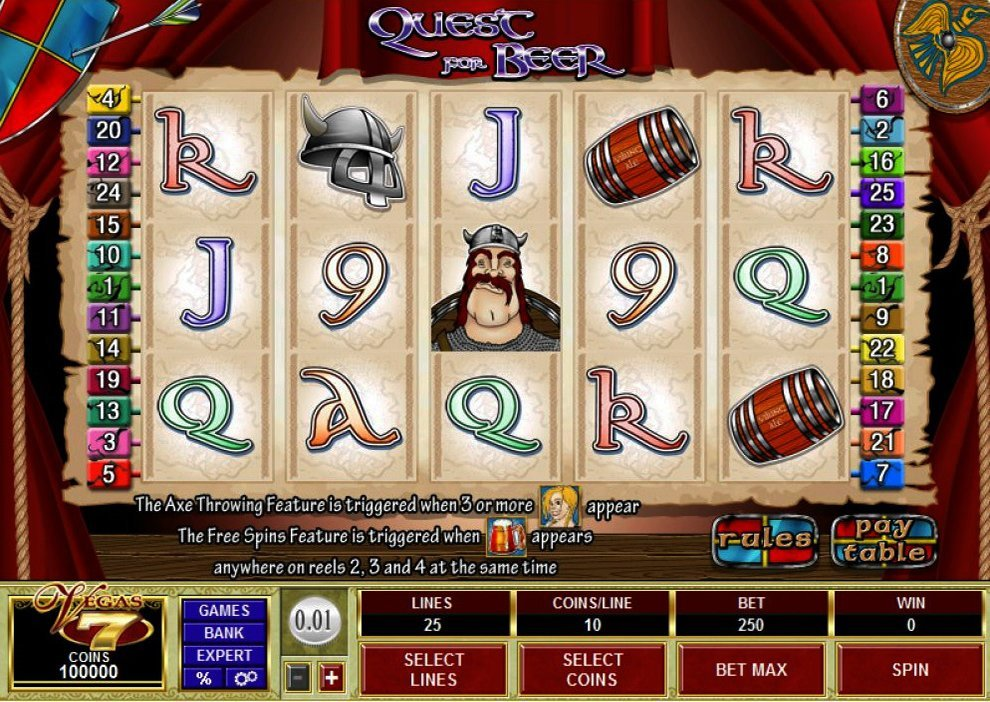 Quest For Beer Slot Review