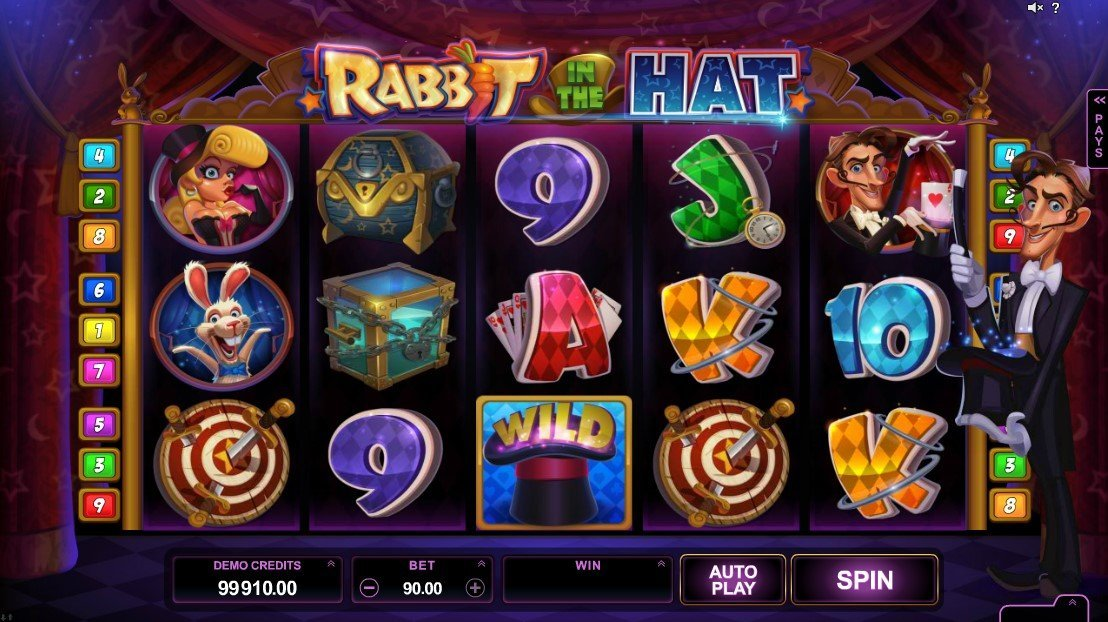 Rabbit In The Hat Slot Review