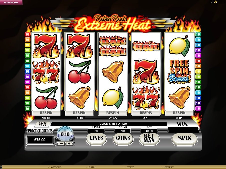 Retro Reels Extreme Heat Slot Review