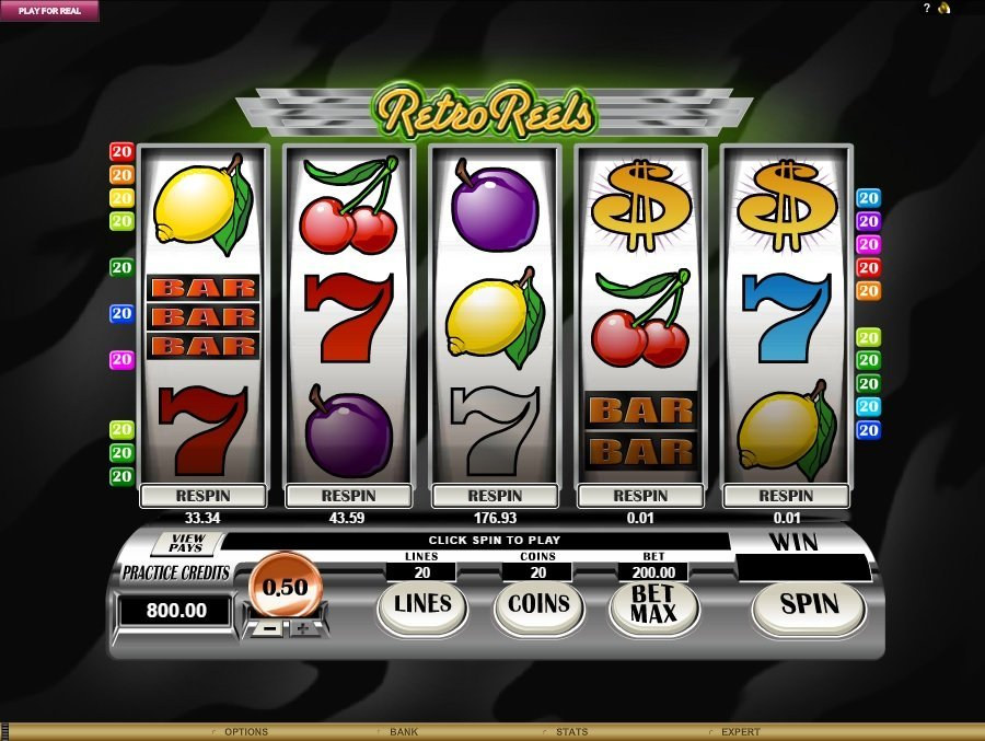 Retro Reels Slot Review