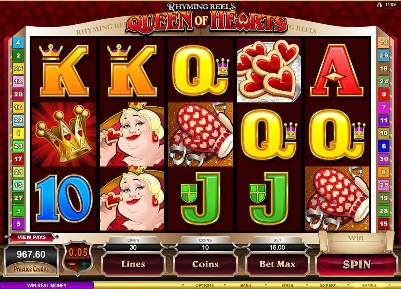Rhyming Reels Queen Of Hearts Slot Review