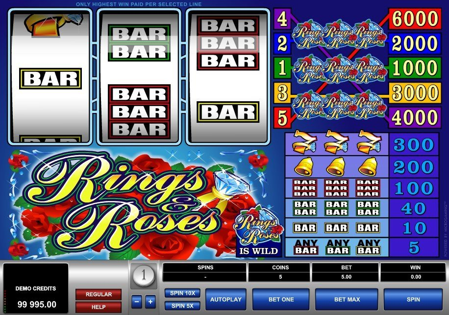 Rings And Roses Slot Review