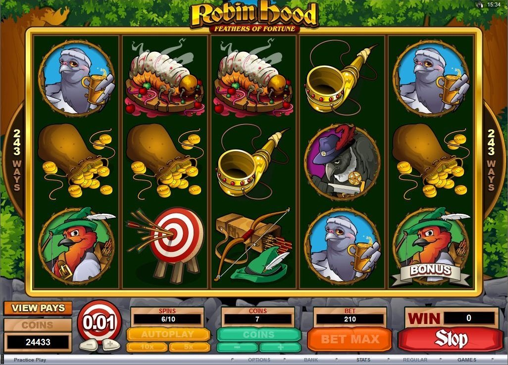 Robin Hood Feathers Of Fortune Slot Review