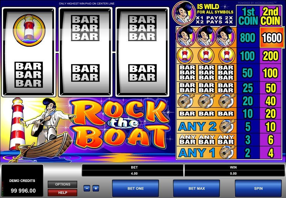 Rock The Boat Slot Review