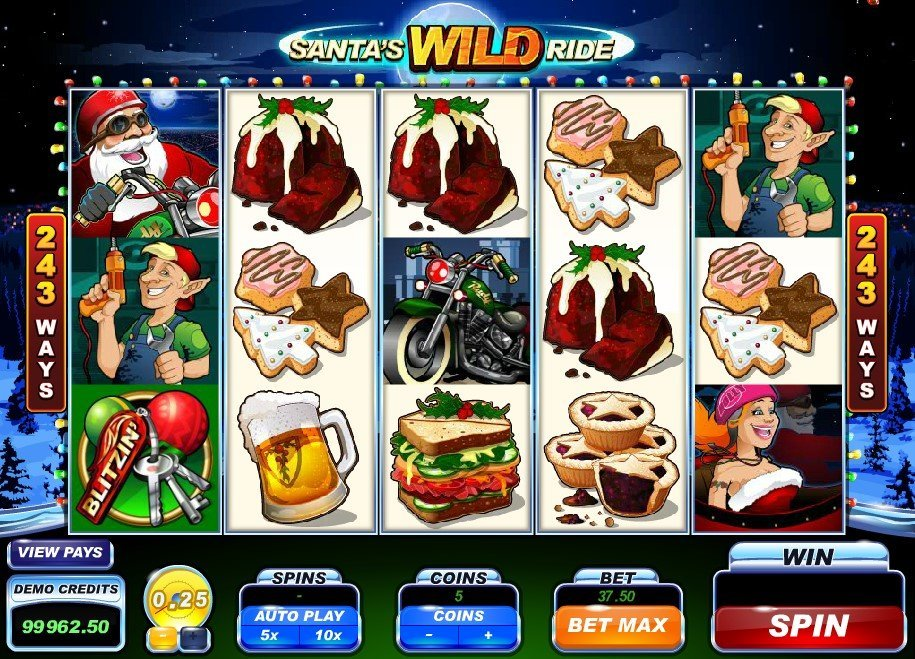 Santas Wild Ride Slot Review