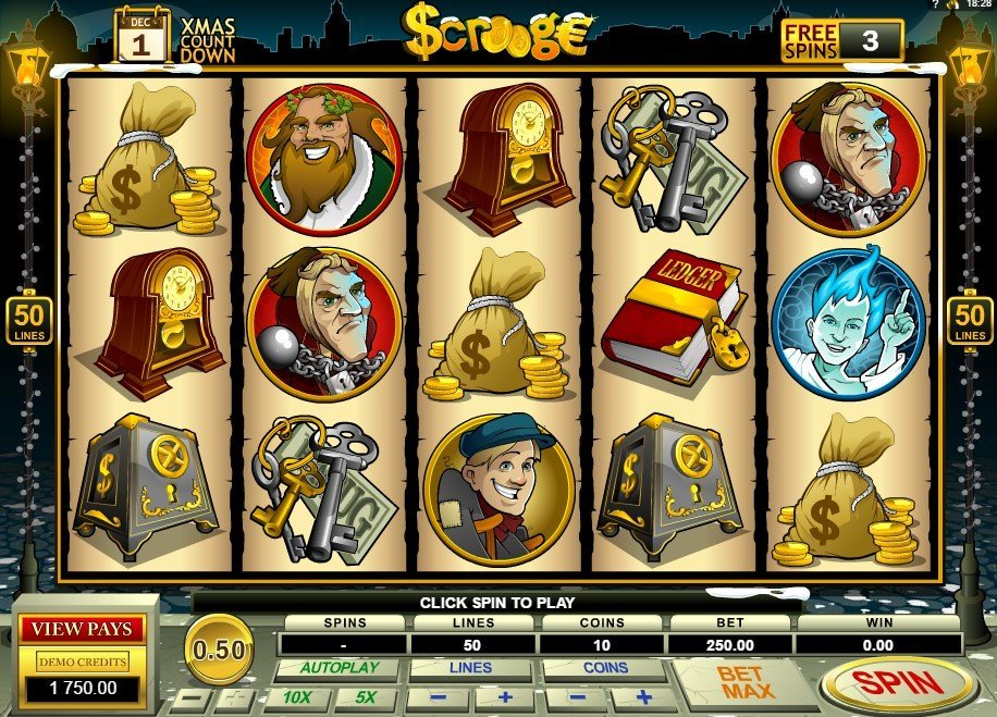 Scrooge Slot Review