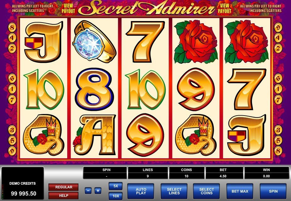 Secret Admirer Slot Review