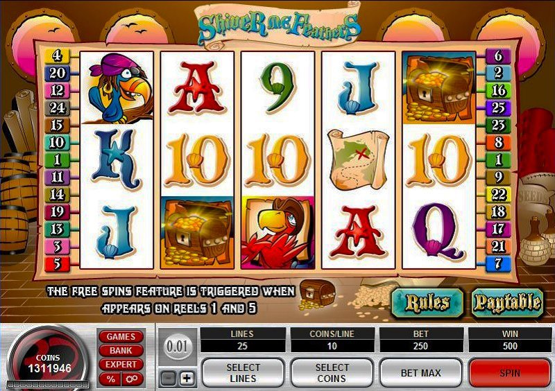 Shiver Me Feathers Slot Review