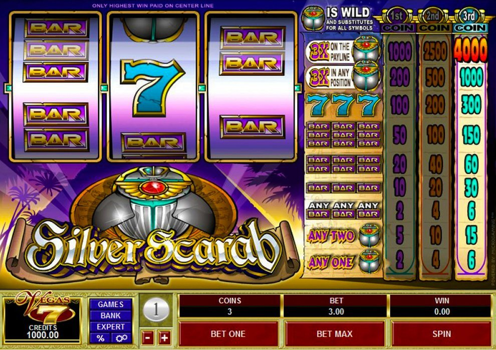 Silver Scarab Slot Review