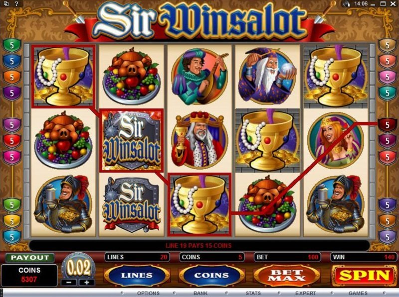 Sir Winsalot Slot Review