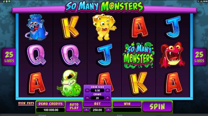 So Many Monsters Slot Review