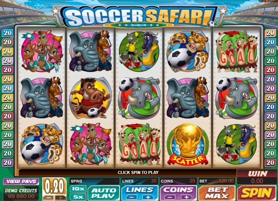 Soccer Safari Slot Review