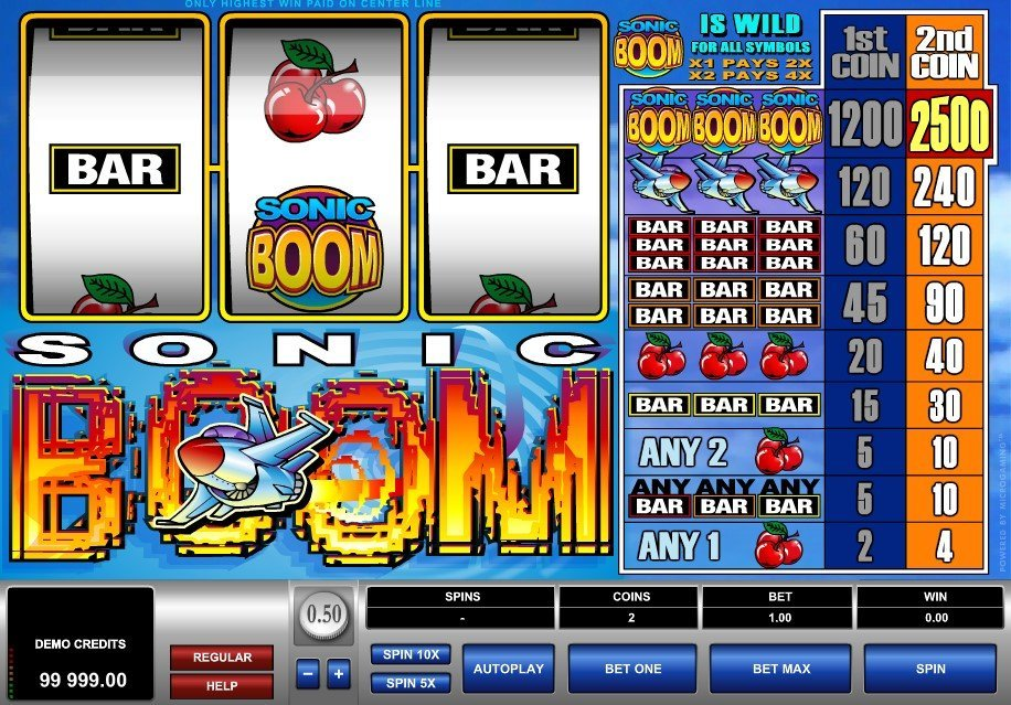 Sonic Boom Slot Review