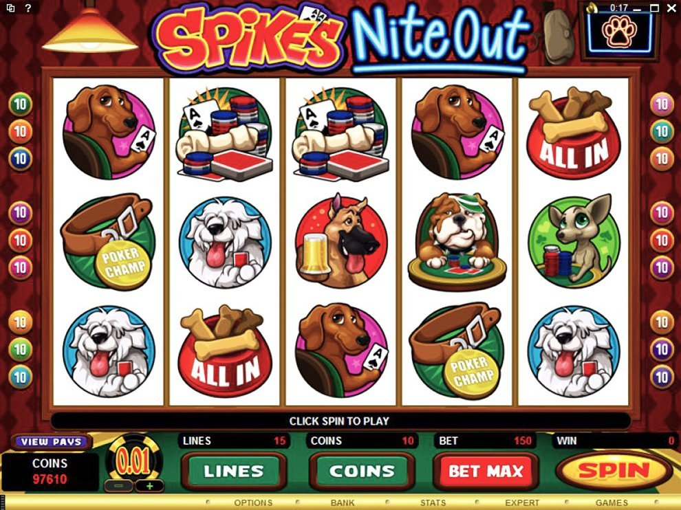 Spikes Nite Out Slot Review