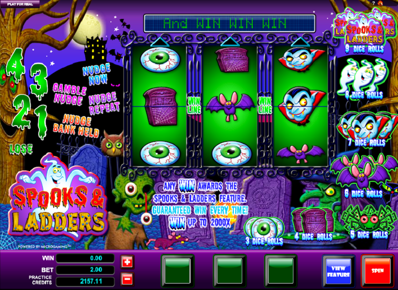 Spooks And Ladders Slot Review