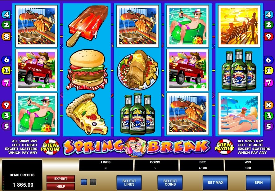 Spring Break Slot Review