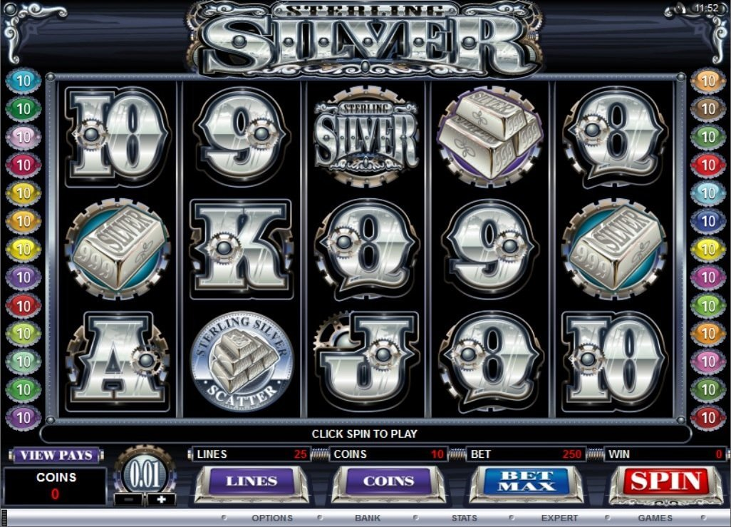 Sterling Silver Slot Review