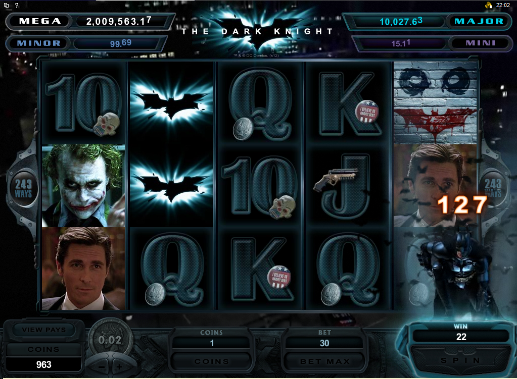 The Dark Knight Slot Review