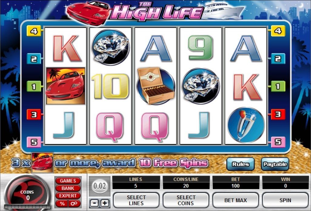 The High Life Slot Review