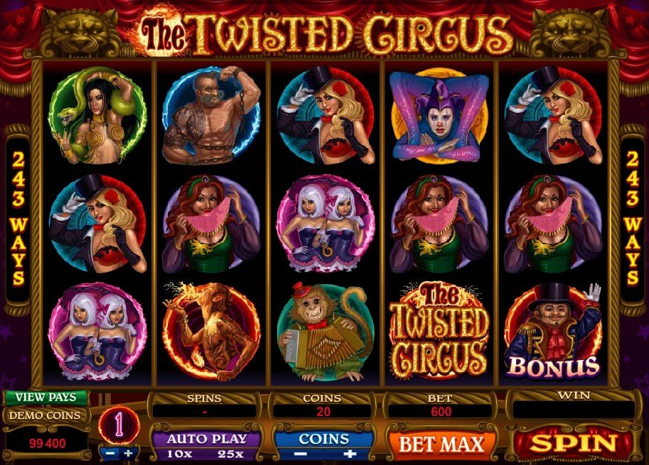 The Twisted Circus Slot Review