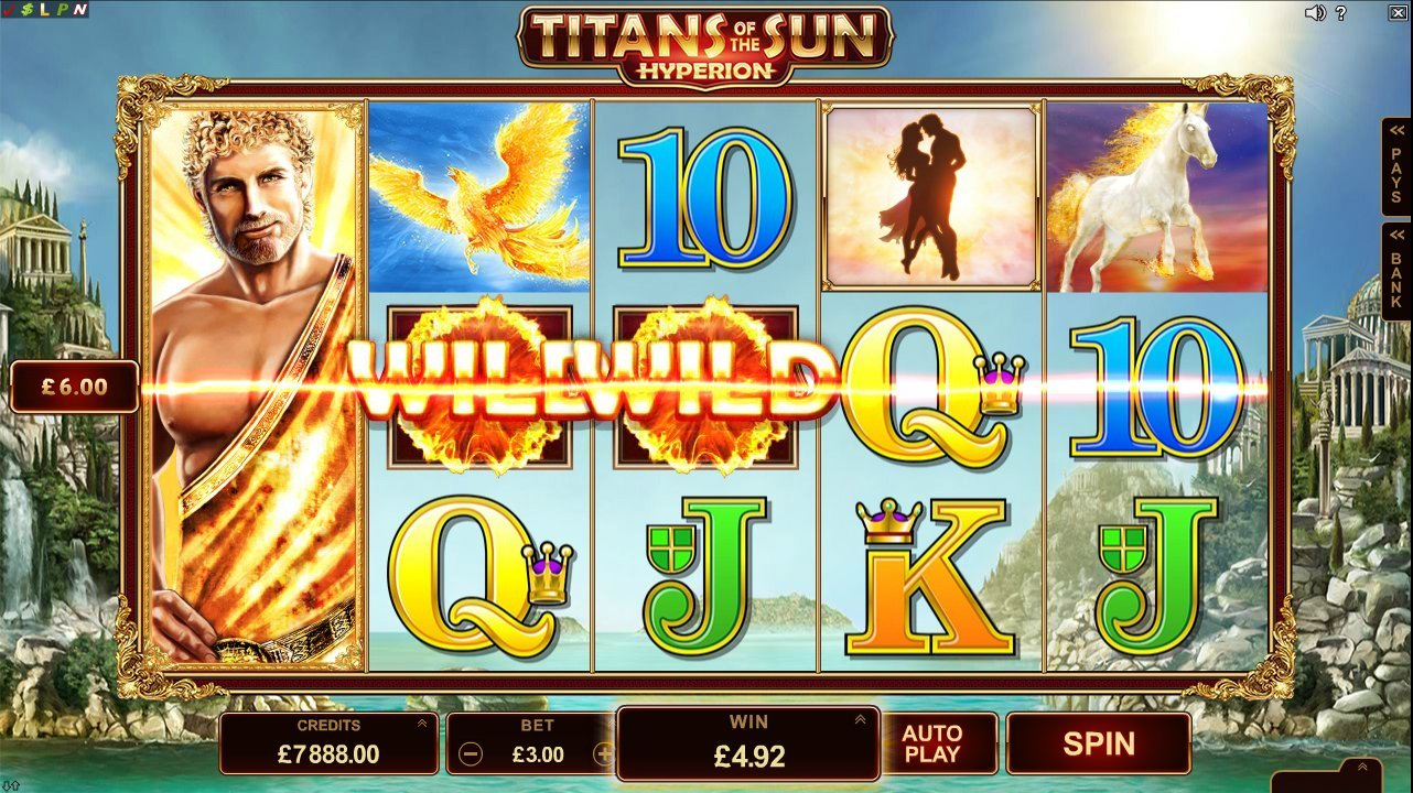Titans Of The Sun Hyperion Slot Review