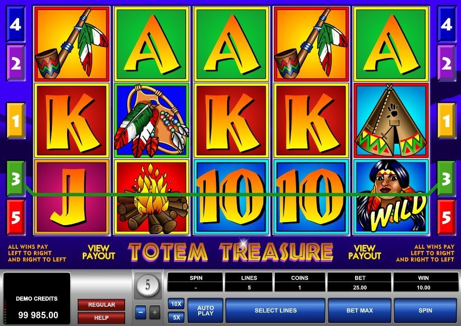 Totem Treasure Slot Review