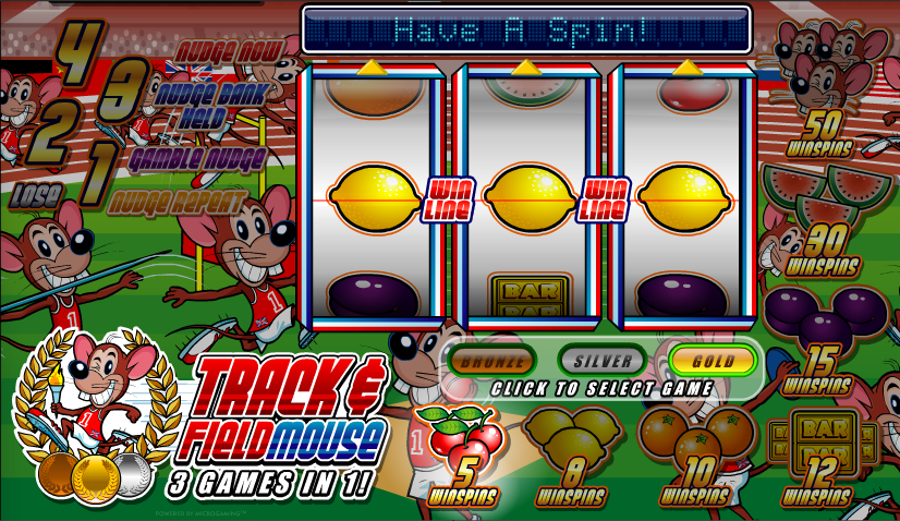 Track Field Mouse Slot Review