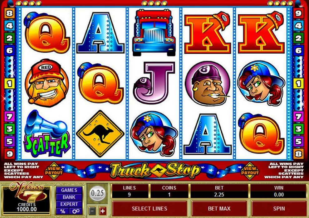 Truck Stop Slot Review