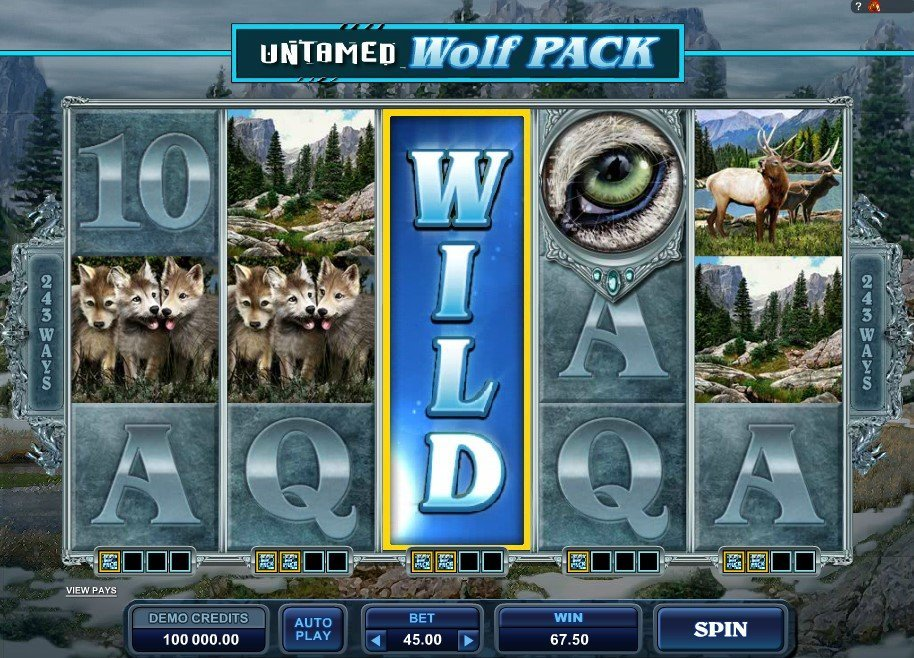 Untamed Wolf Pack Slot Review