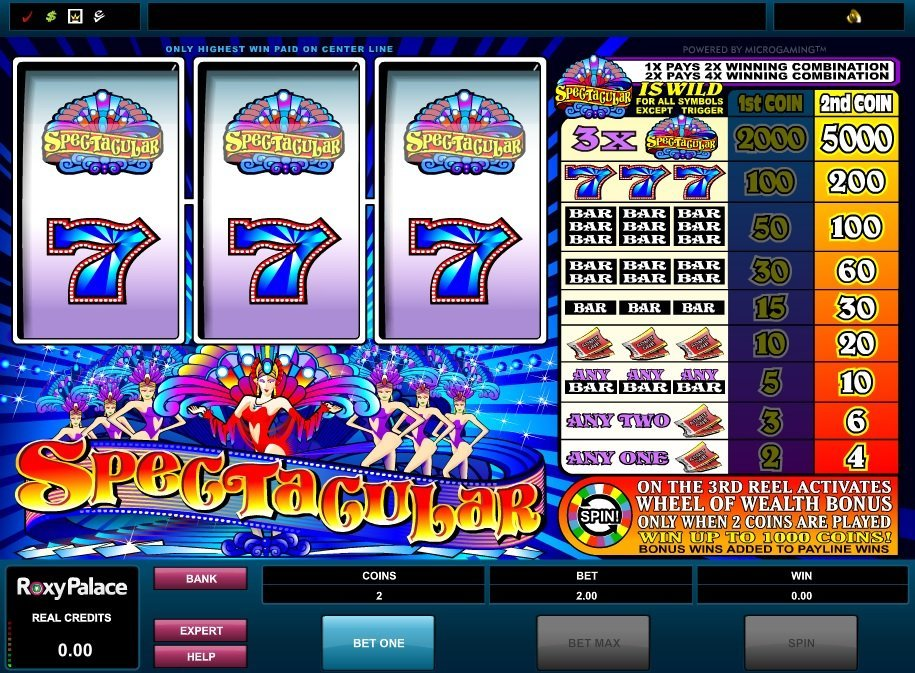 Wheel Of Wealth Spectacular Slot Review