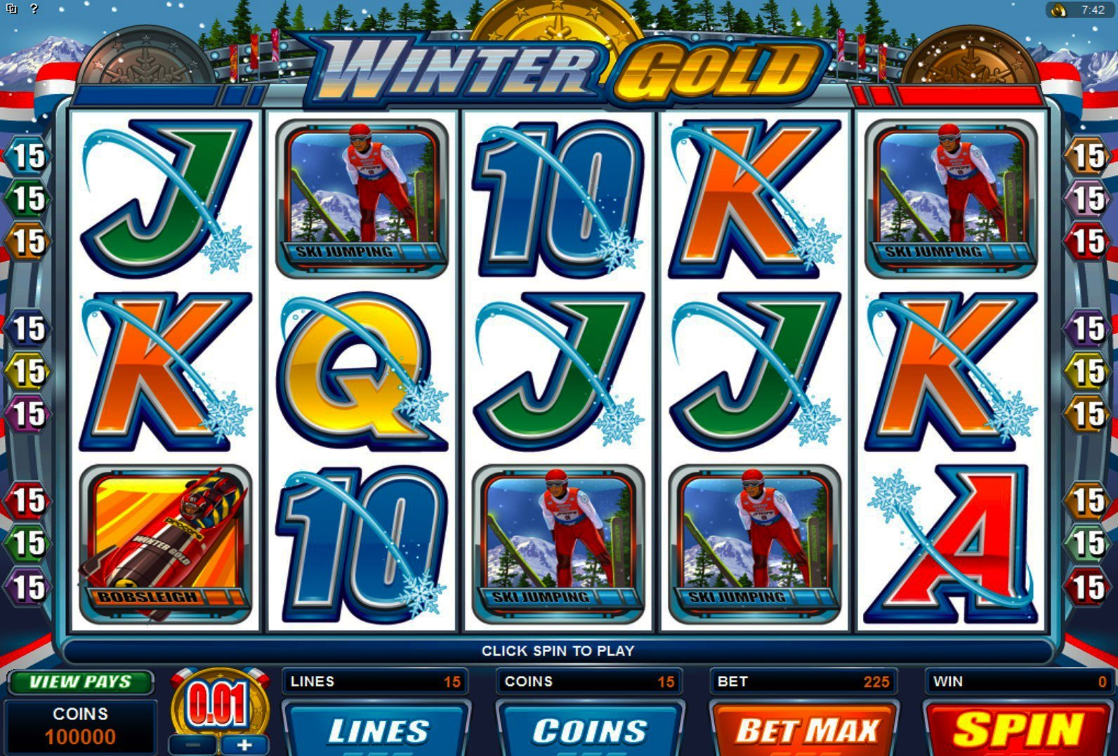 Winter Gold Slot Review