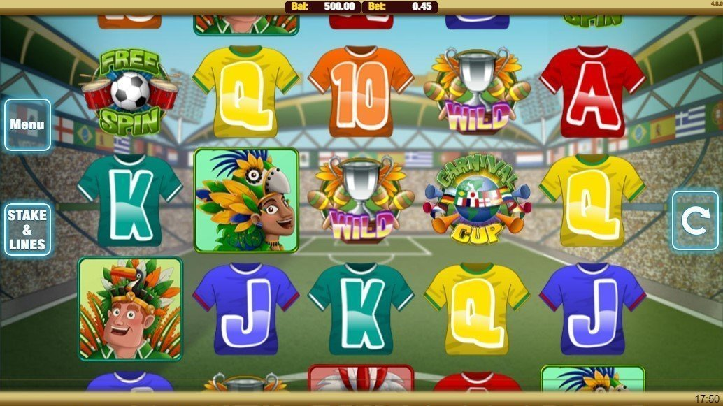 Carnival Cup Slot Review