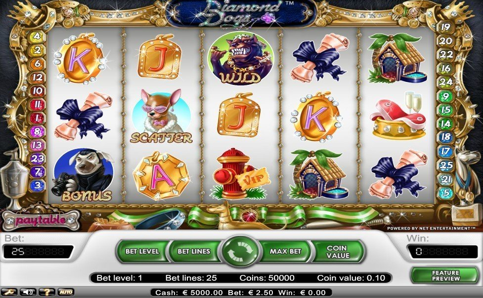 Diamond Dogs Slot Review