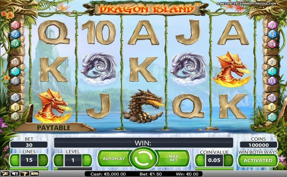 Dragon Island Slot Review