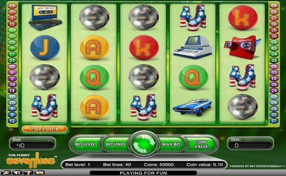 Funky Seventies Slot Review
