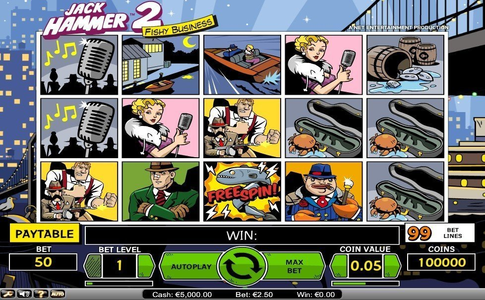 Jack Hammer 2 Fishy Business Slot Review