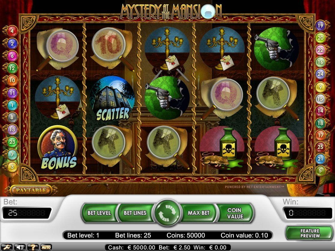 Mystery At The Mansion Slot Review