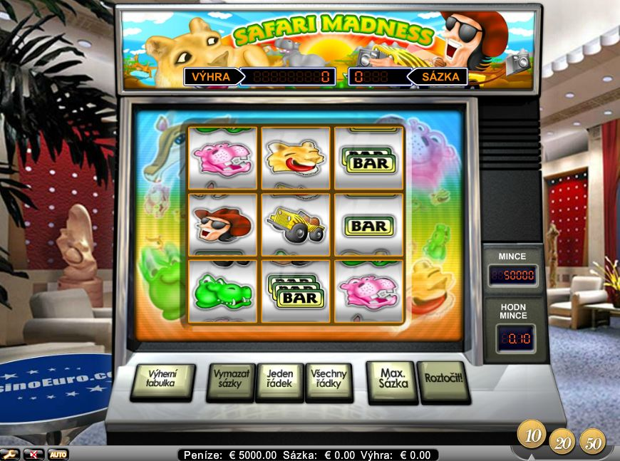 Safari Madness Slot Review
