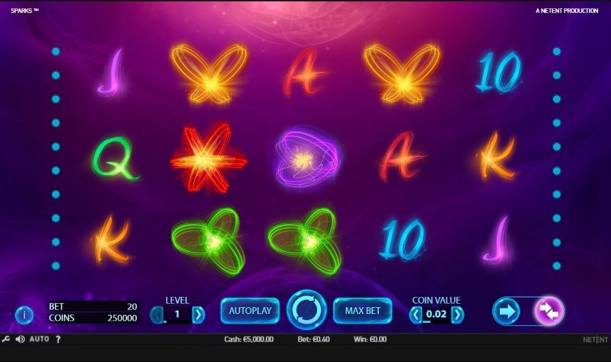Sparks Slot Review