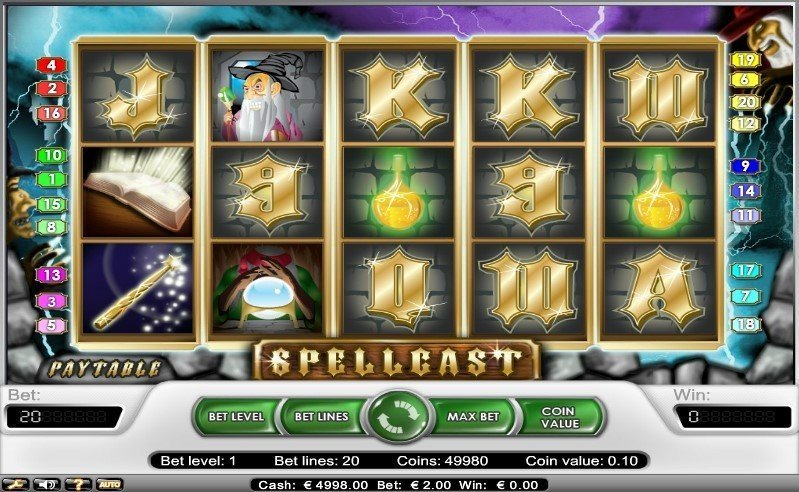 Spellcast Slot Review