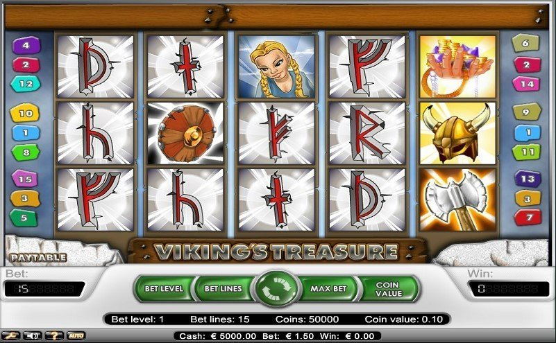 Vikings Treasure Slot Review