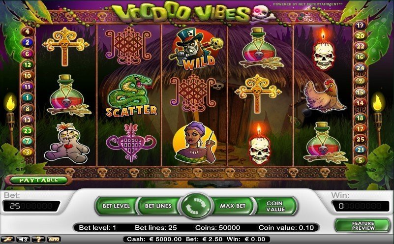 Voodoo Vibes Slot Review