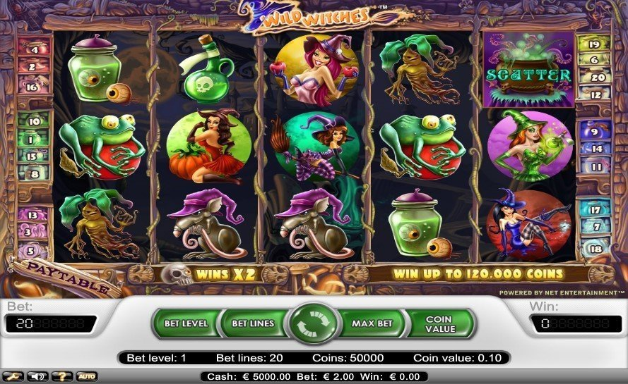 Wild Witches Slot Review