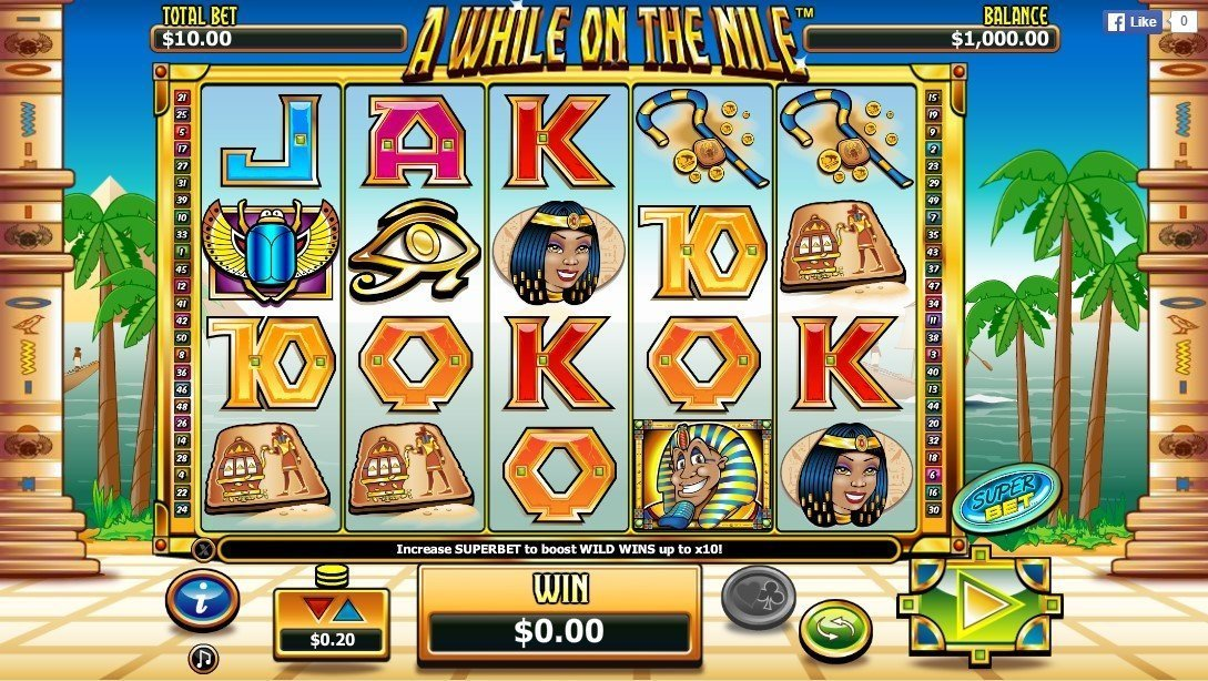 A While On The Nile Slot Review