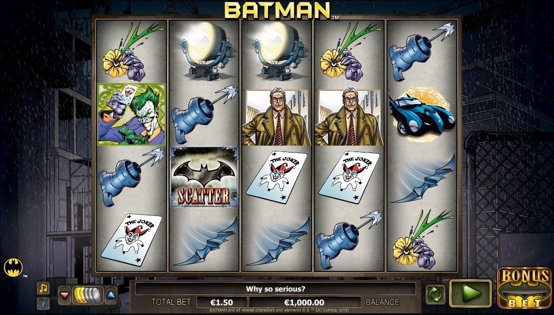 Batman Slot Review