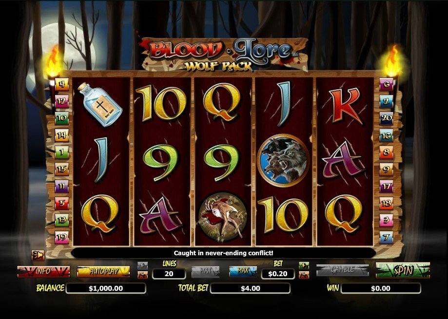 Blood Lore Wolf Pack Slot Review