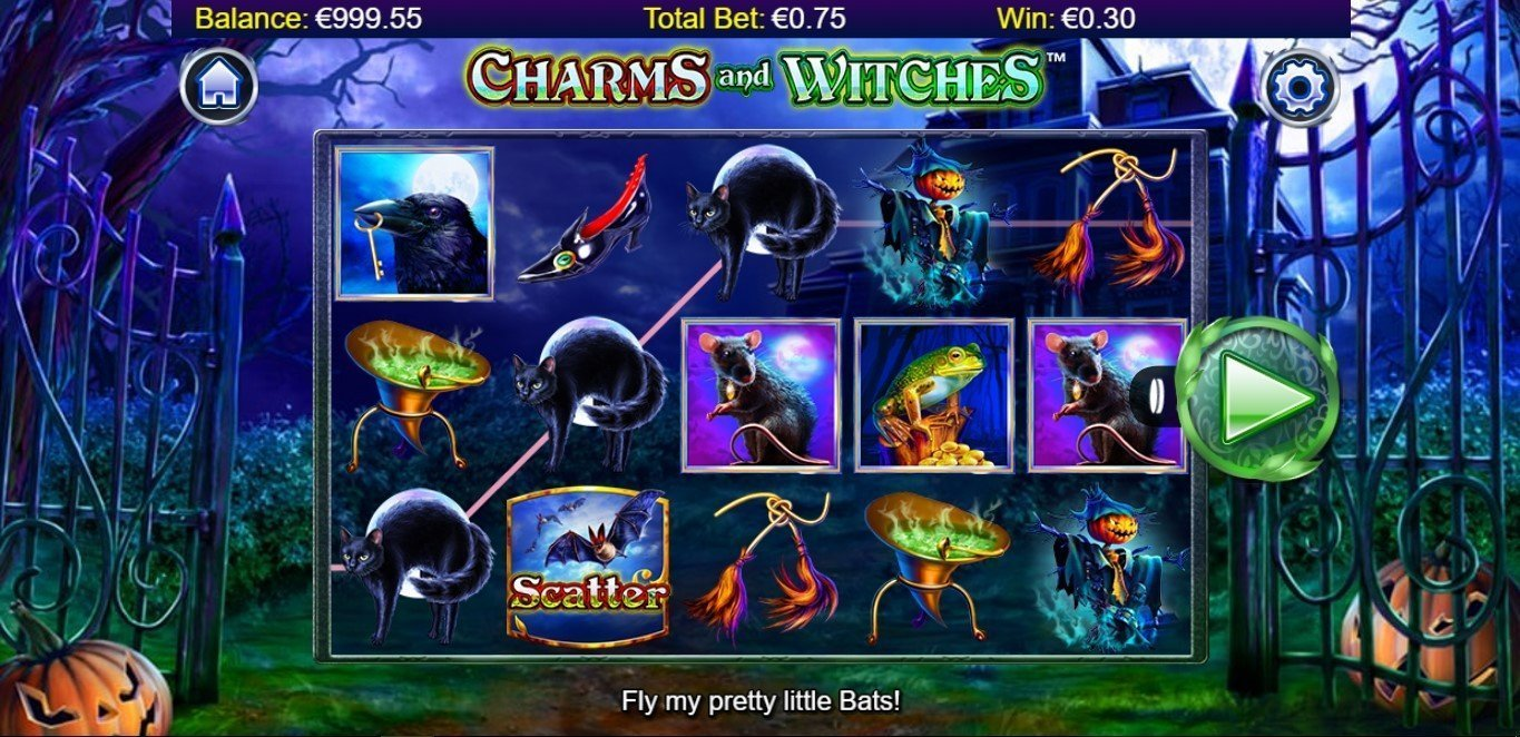 Charms Witches Slot Review
