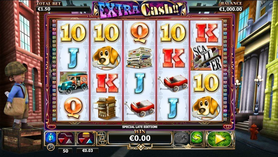 Extra Cash Slot Review
