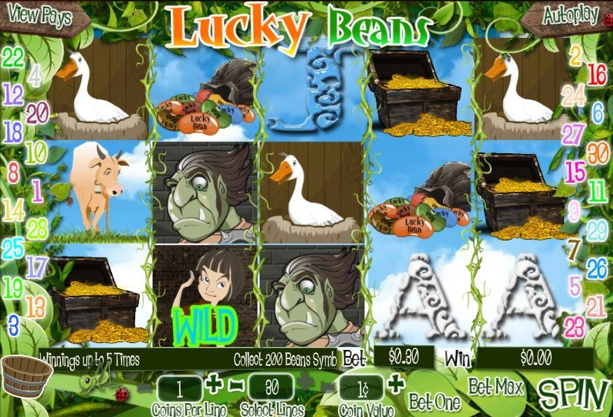 Lucky Beans Slot Review
