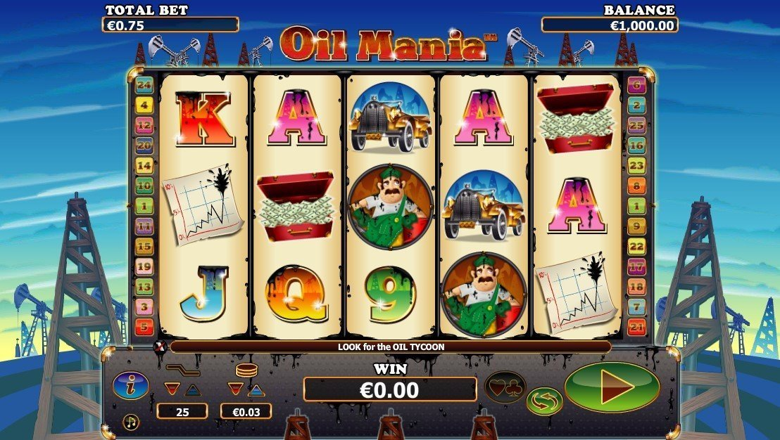 Oil Mania Slot Review